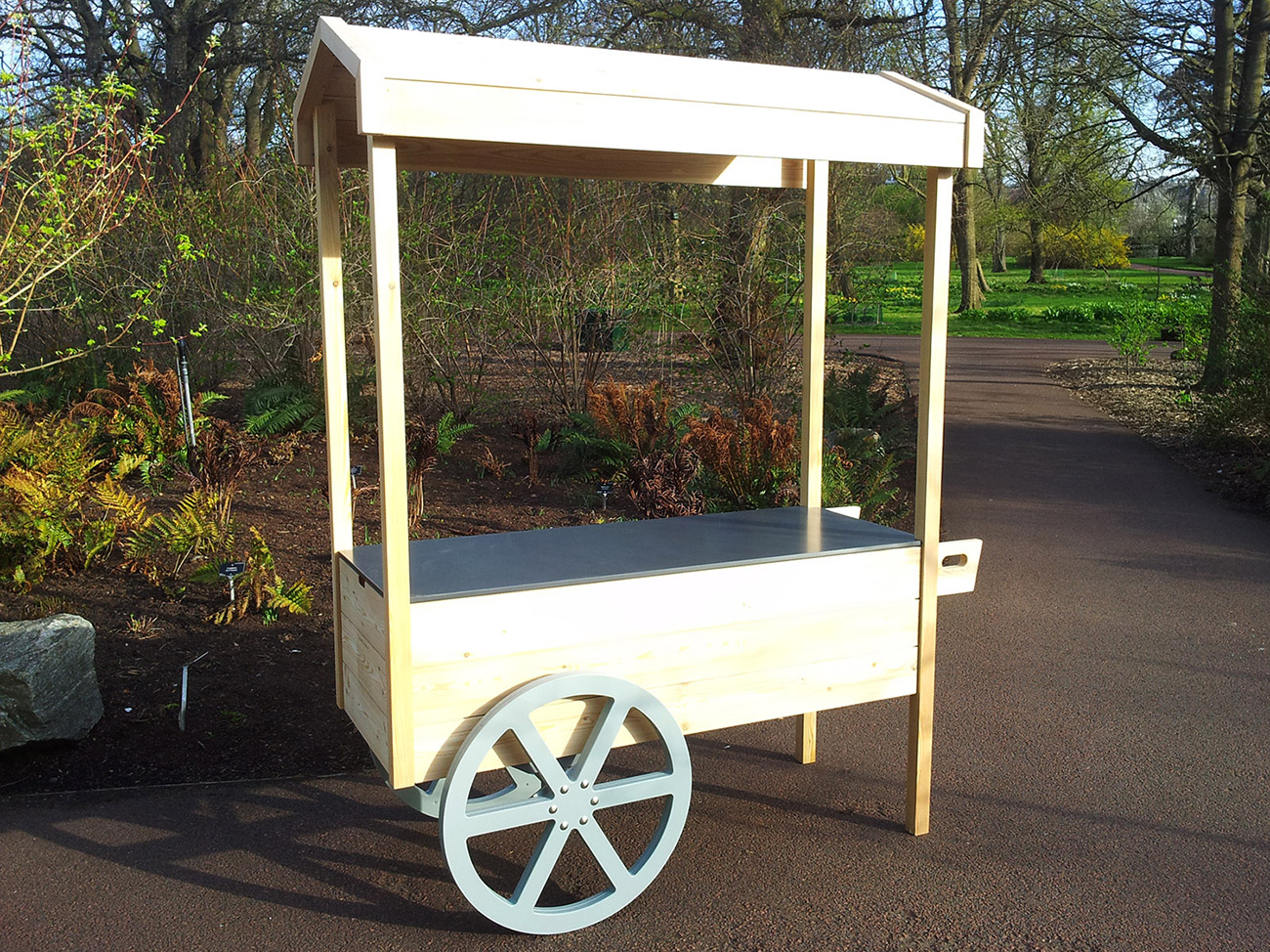 The Edible Gardening Project – Cart Workstation – Old School ...